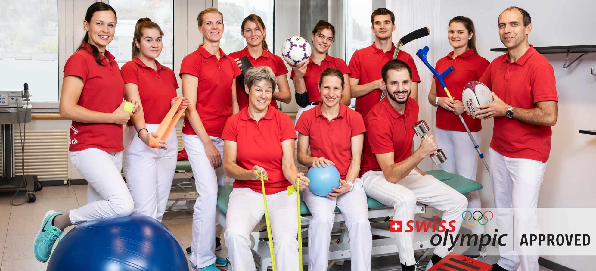 smzbi Sportmedizinisches Zentrum Team Foto Sportmedizin in Bern